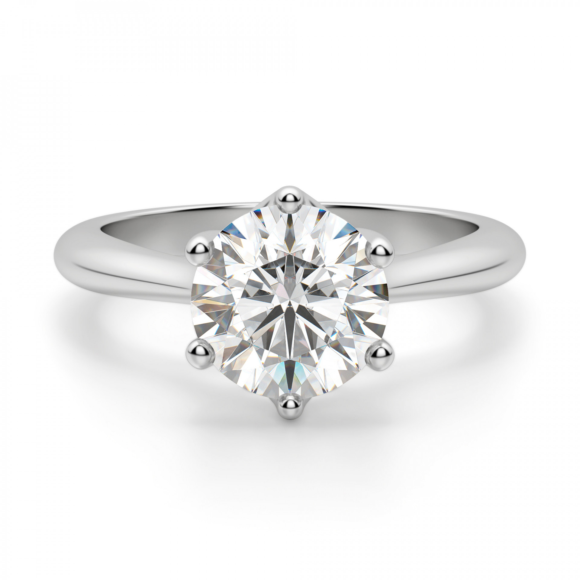 bali classic round cut engagement ring. Black Bedroom Furniture Sets. Home Design Ideas
