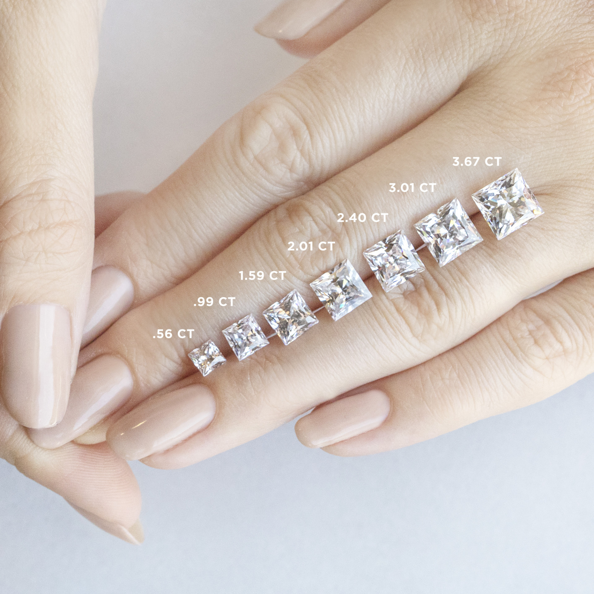 e8075cea5e2ed Valencia Princess Cut Engagement Ring