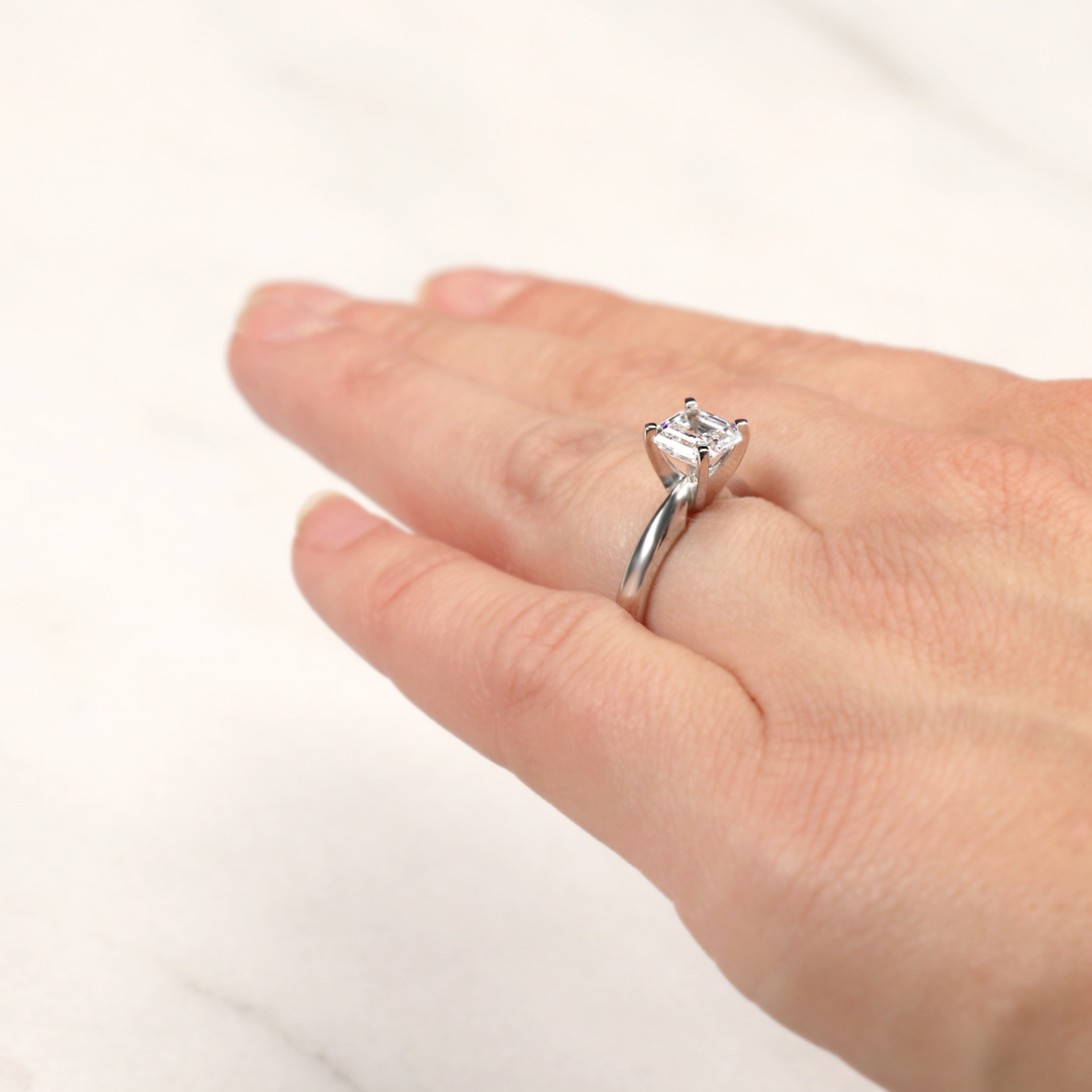 d7346a8c9 Engagement Rings | Solitare | Tiffany-Style Solitaire Engagement Ring