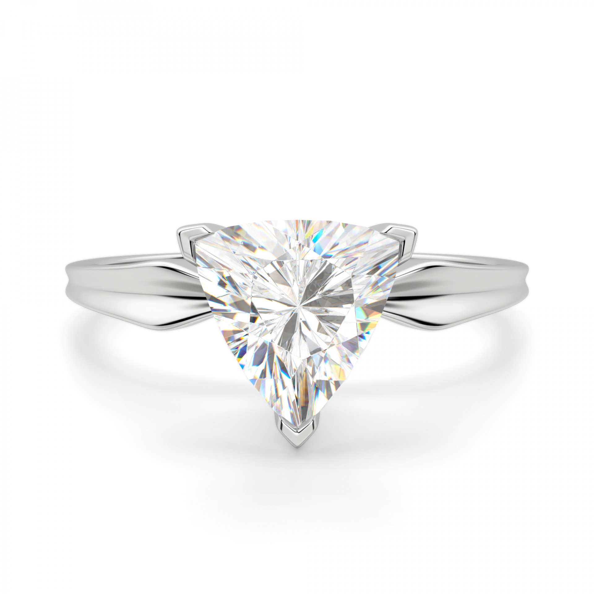 1927123f6a003 Soliloquy Trillion Cut Engagement Ring