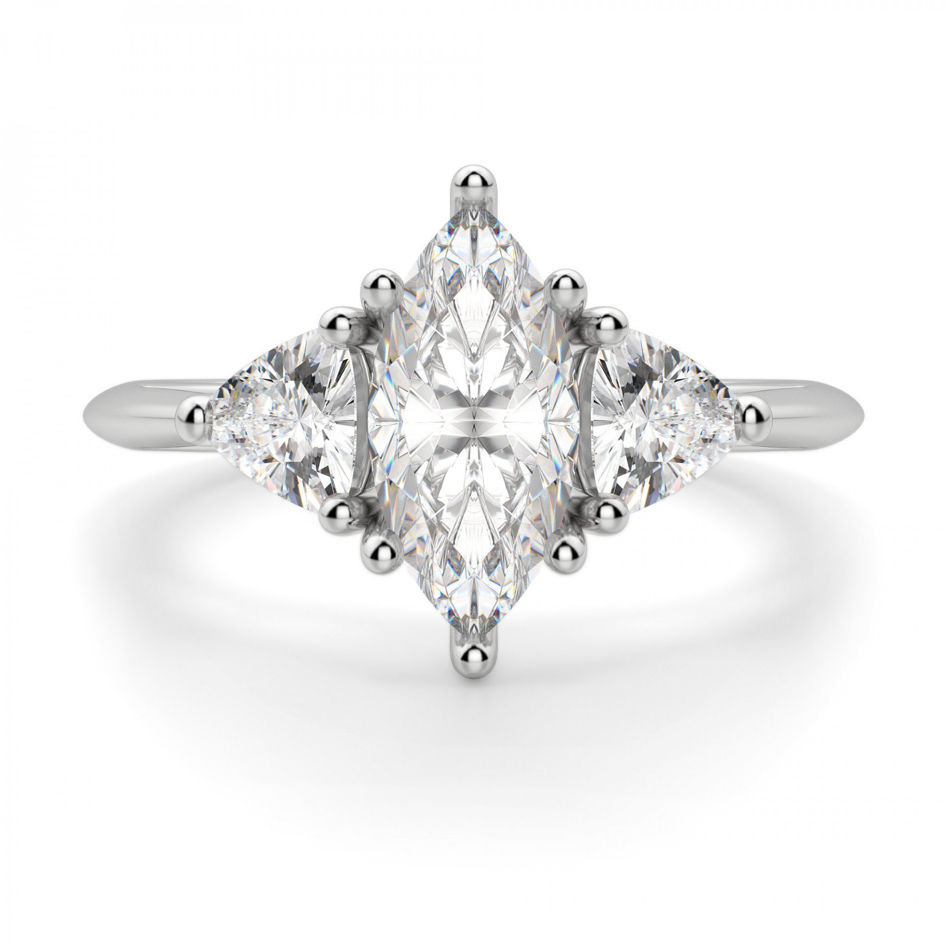 Engagement Rings Marquise: Timeless Marquise Cut Engagement Ring