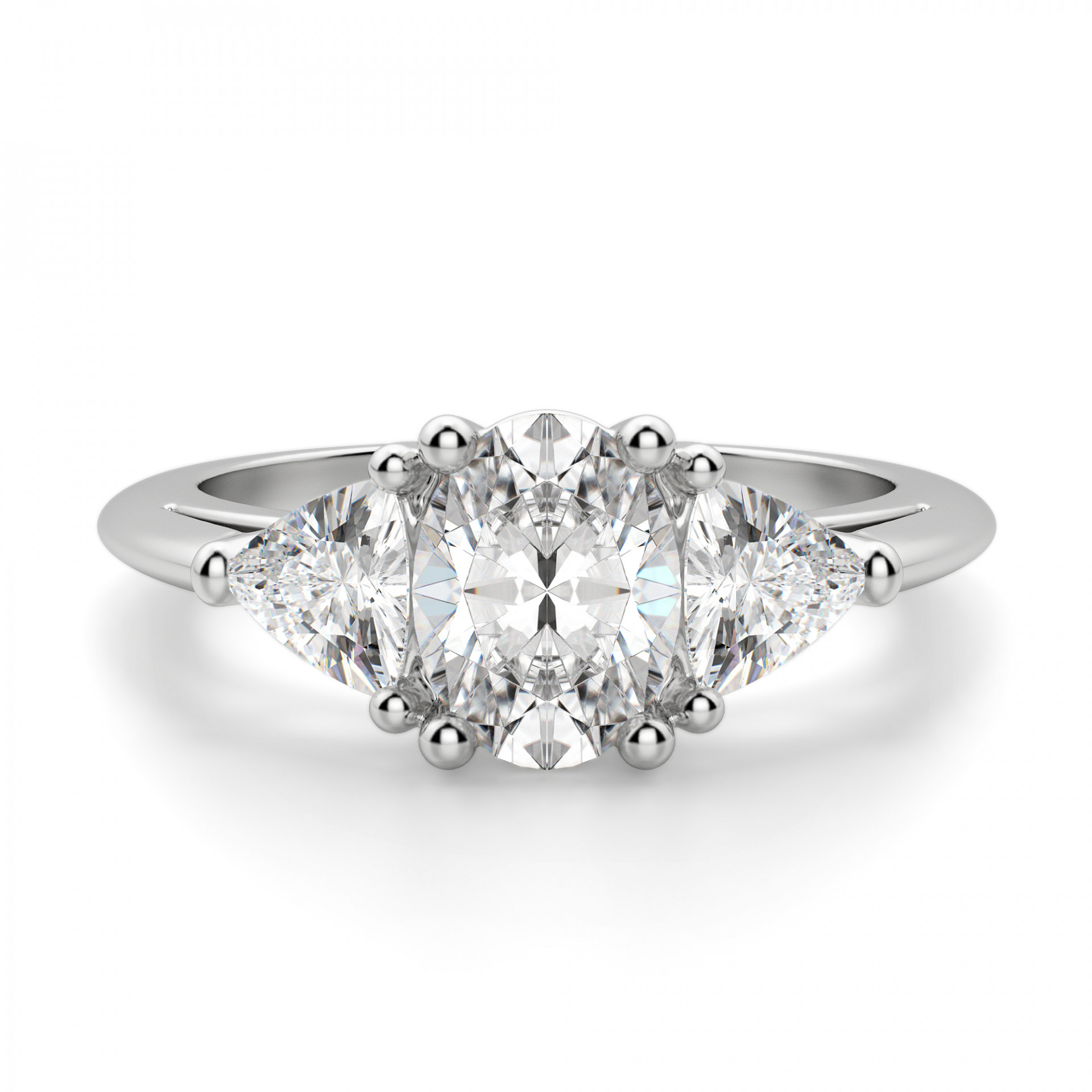 Timeless Oval Cut Engagement Ring