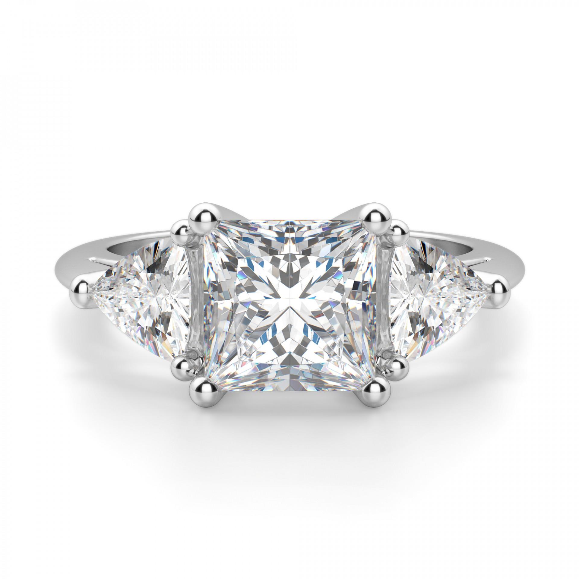 00f71df1a92fd Timeless Princess cut Engagement Ring