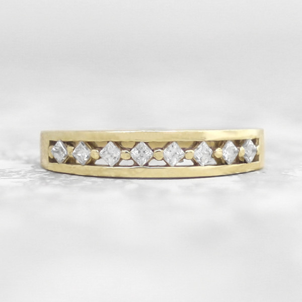 Discontinued Hikaru Band - 14k Yellow Gold - Ring Size 5.0