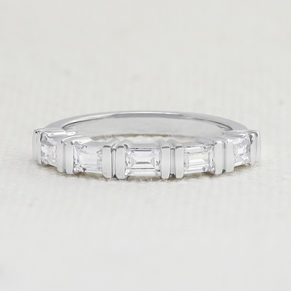 As Love Grows with 0.70 Total Carat Weight - 14k White Gold - Ring Size 9.0