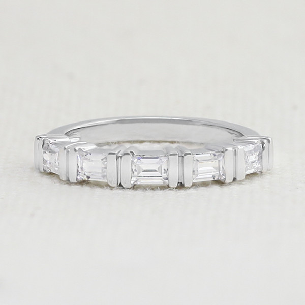 As Love Grows with 0.70 Total Carat Weight - 14k White Gold - Ring Size 7.5