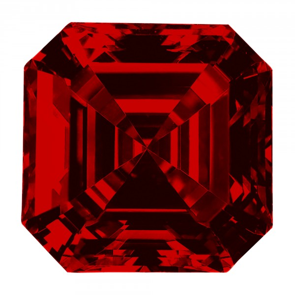 Ruby Asscher Cut