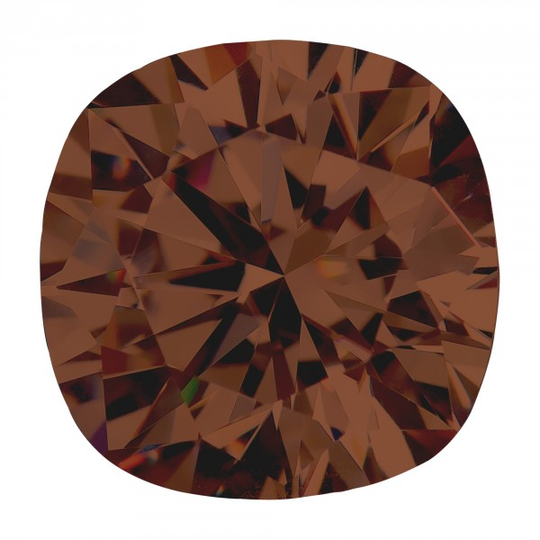 Chocolate Cushion Cut