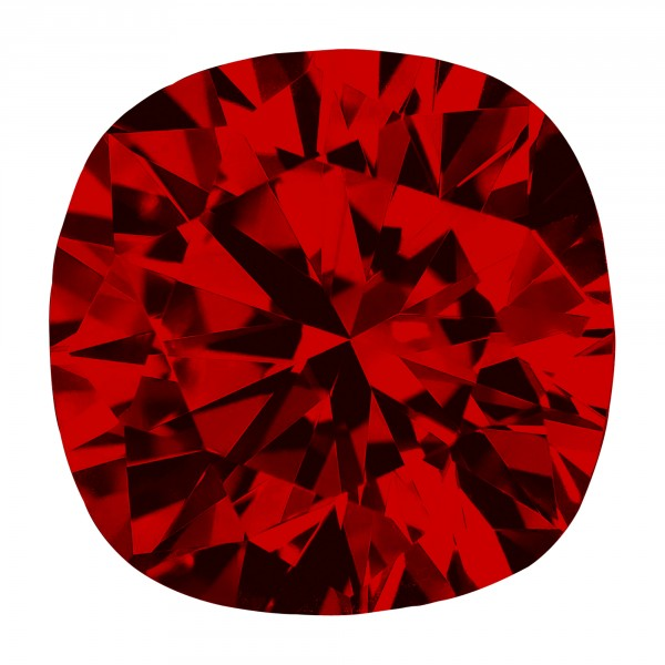 Ruby Cushion Cut