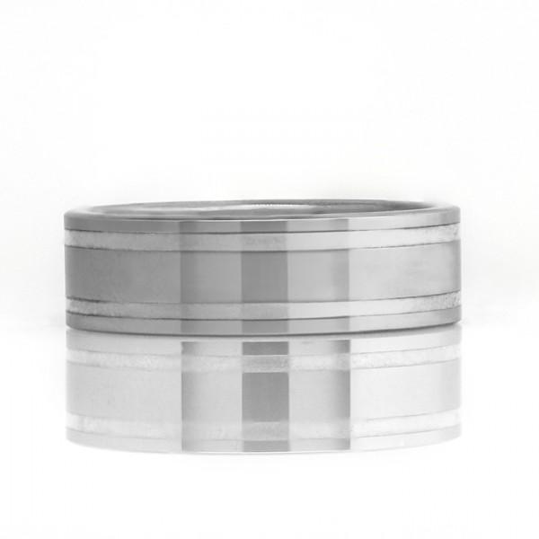 Deuce - Tungsten - Ring Size 8.0