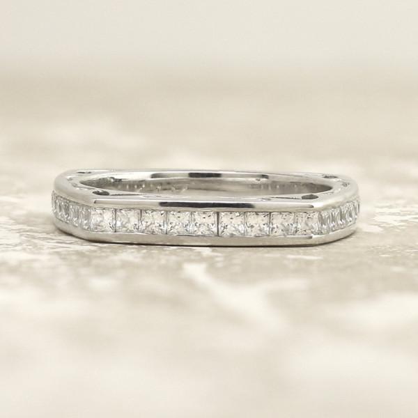 Discontinued Maya Costa Matching Band - 14k White Gold - Ring Size 5.0