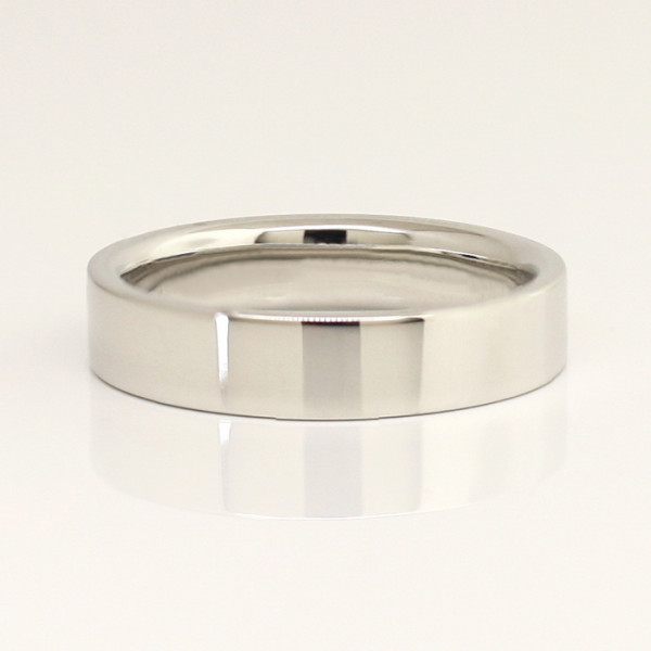 5 MM Downtown - 14k White Gold - Ring Size 12.00