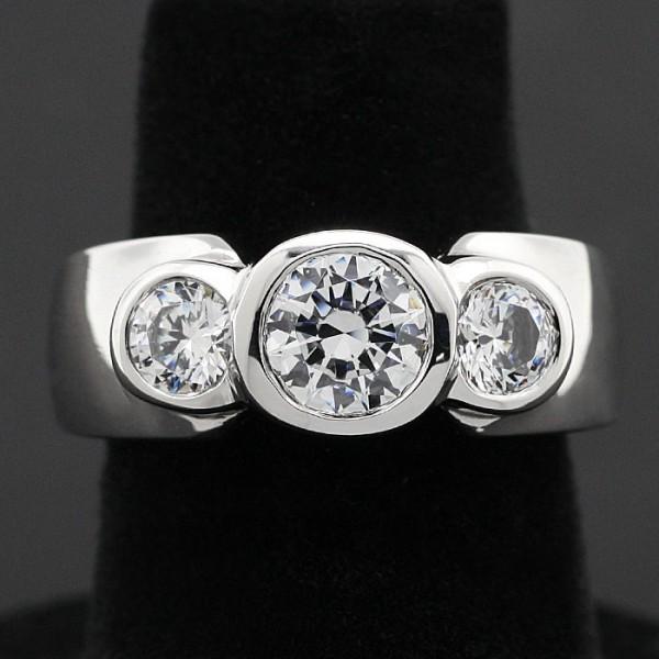 Spotlights - Lorian Platinum - Ring Size 5.0