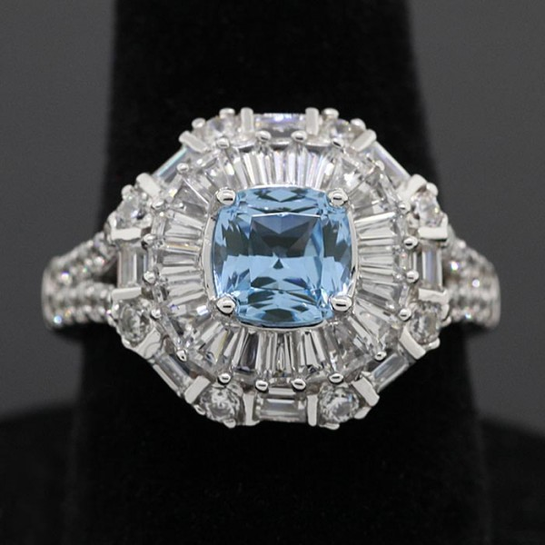 Theadora - Lorian Platinum - Ring Size 6.0