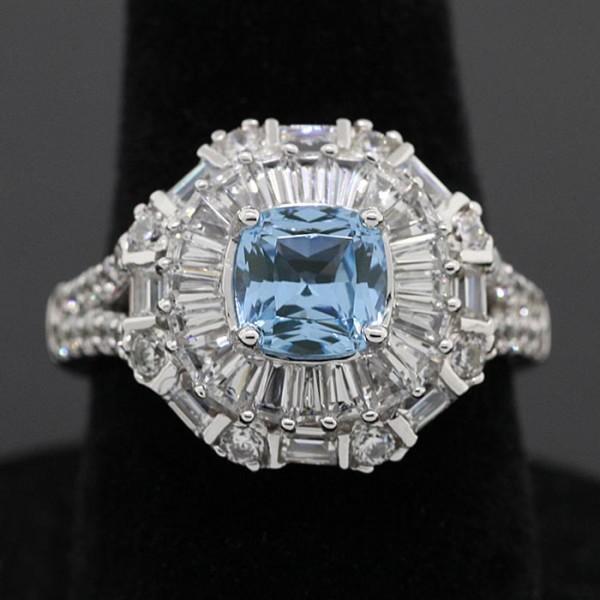 Theadora - Lorian Platinum - Ring Size 5.0