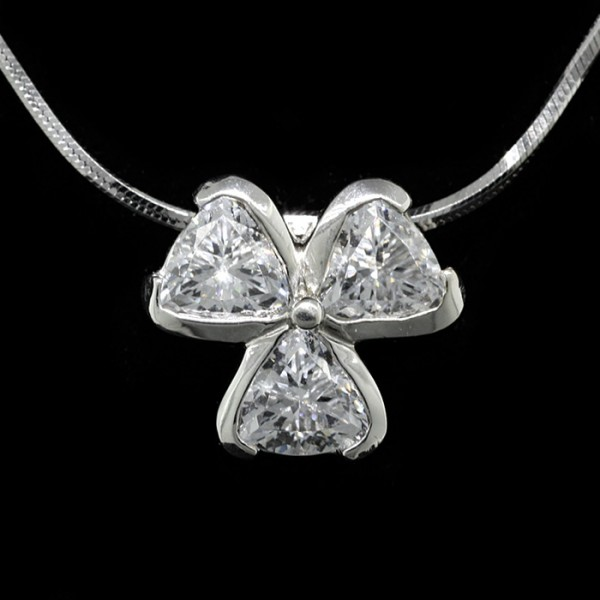 Sweet Taboo with Adjustable Chain - 14k White Gold