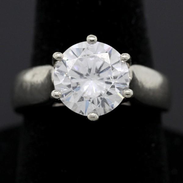 New Wisdom Ring - 14k White Gold - Ring Size 6.5