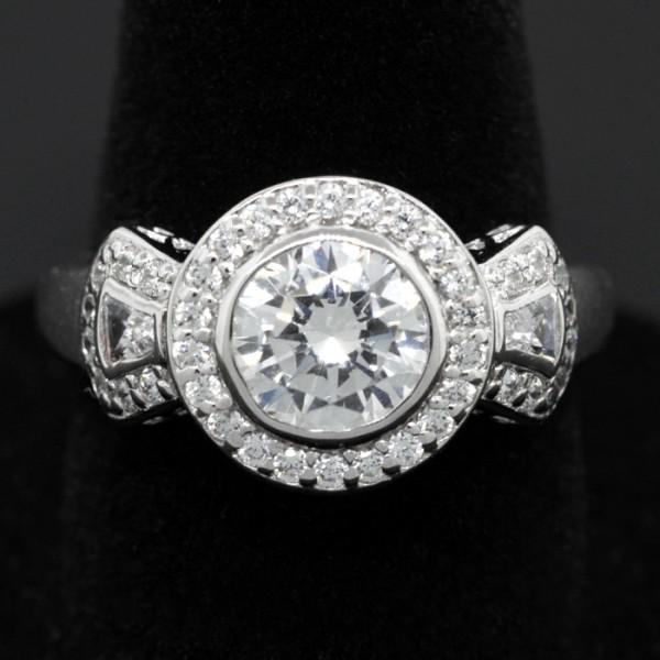 Artemis Ring - Lorian Platinum - Ring Size 6.0