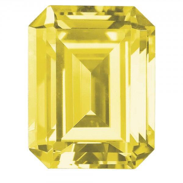 Canary Emerald Cut