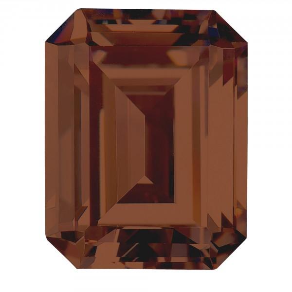 Chocolate Emerald Cut