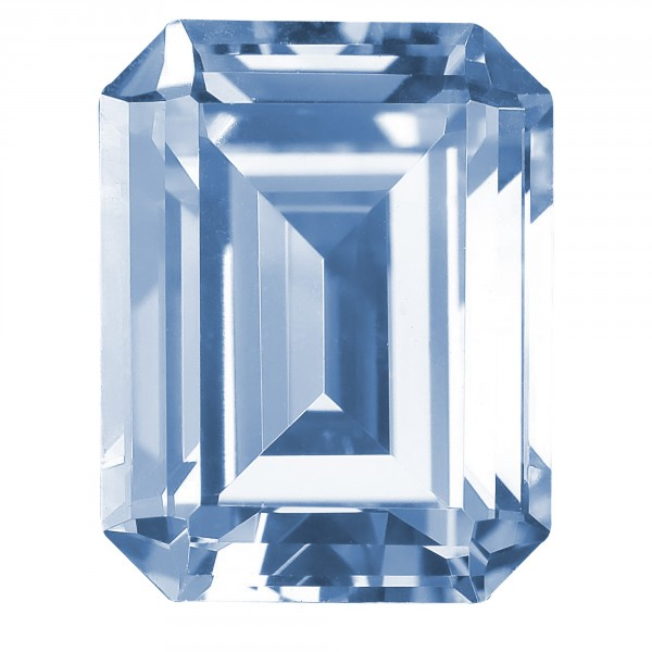 Glacial Ice Emerald Cut