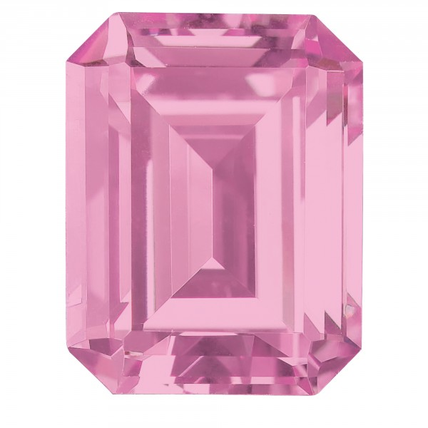 Rose Emerald Cut