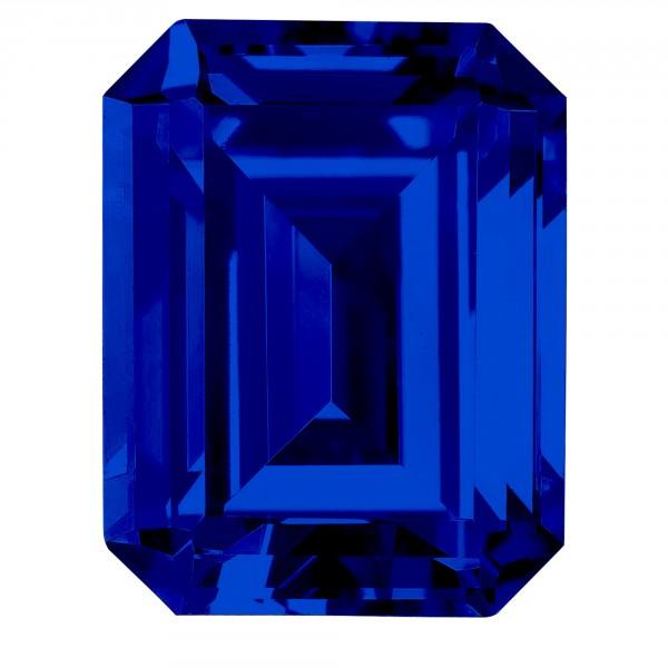 Sapphire Emerald Cut