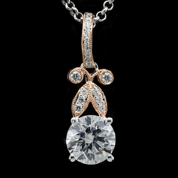 Royal Street - 14k White and Rose Gold - 2.04 carat