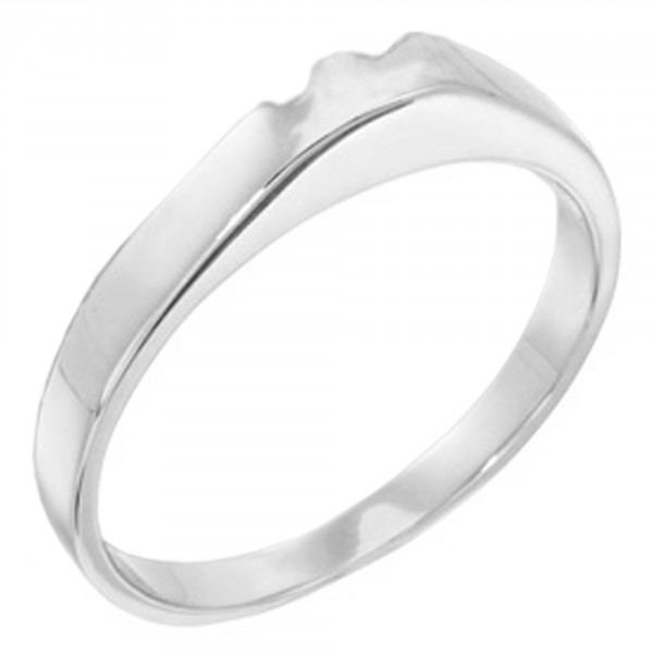 Lareda Matching Band - Palladium - Ring Size 4.0-6.0