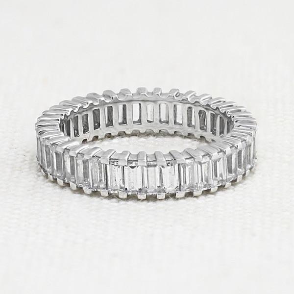 Retired Model Heaven Sent Eternity Band - 14k White Gold - Ring Size 10.0