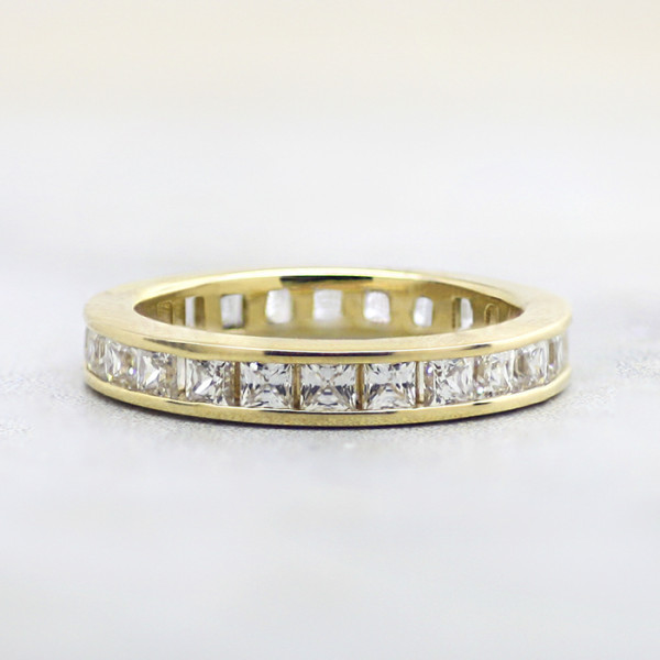 Retired Model Simple Pleasures with 2.50 Total Carat Weight - 14k Yellow Gold - Size 7.0