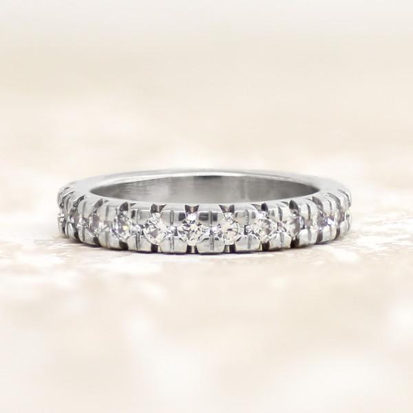 Gwyneth Matching Band - Palladium - Ring Size 5.5