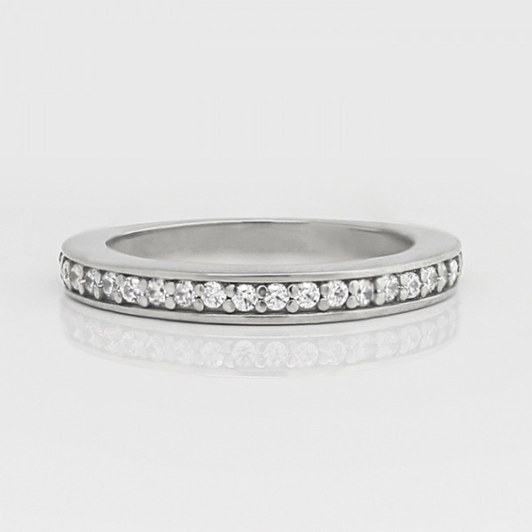True Love Matching Band - Platinum - Ring Size 5.75