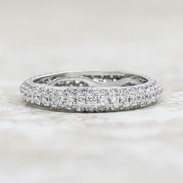 Louvre Matching Band - Palladium - Ring Size 5.25