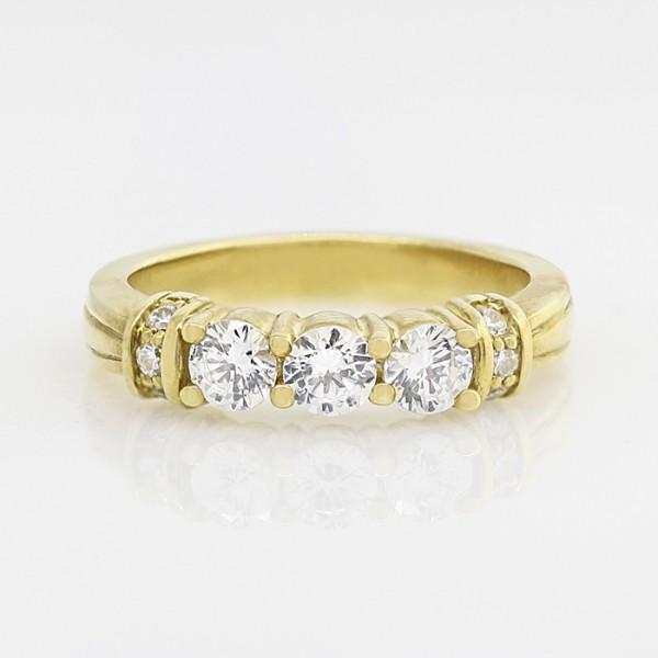 Incarna Matching Band - 18k Yellow Gold - Ring Size 8.0-10.0