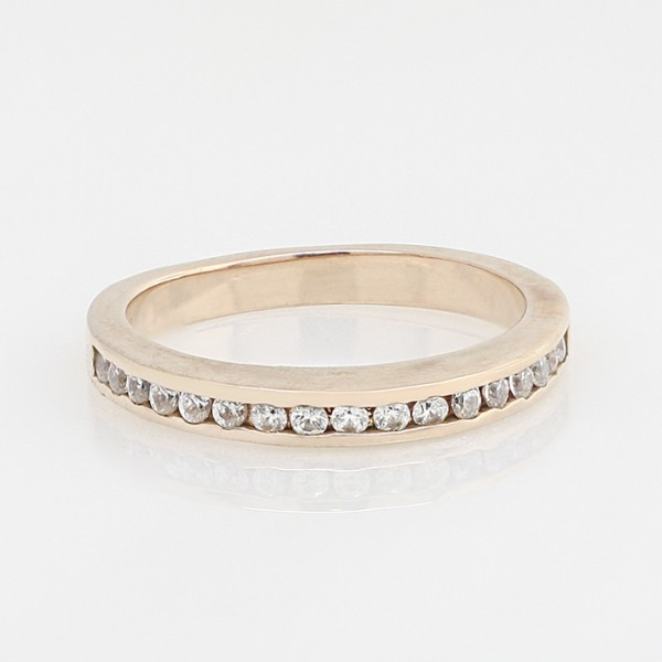 Astra Matching Band - 14k Rose Gold - Ring Size 6.0