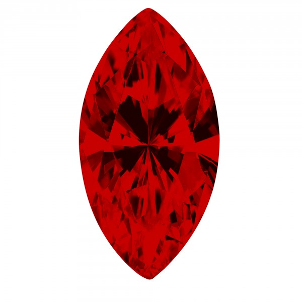 Ruby Marquise Cut