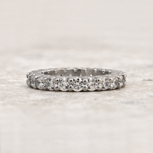 Oasis with 2.42 Total Carat Weight - 14k White Gold - Ring Size 7