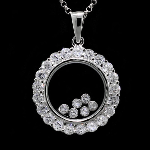 Moonbeams Pendant - Sterling Silver