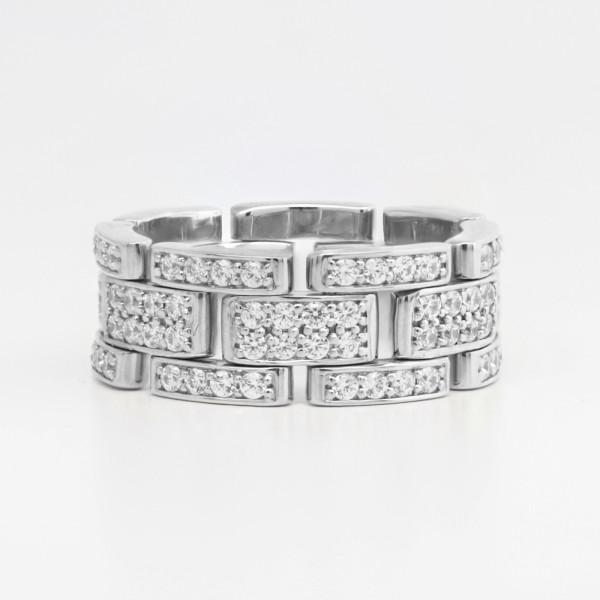 Prometheus - 14k White Gold - Ring Size 7.5