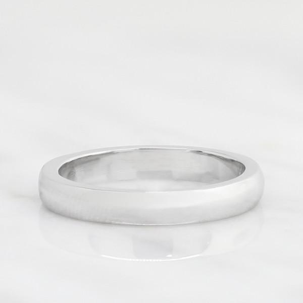 Semi-Custom San Francisco Matching Band - Platinum - Ring Size 6.5