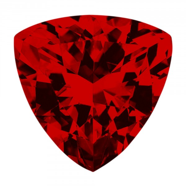 Ruby Trillion Cut