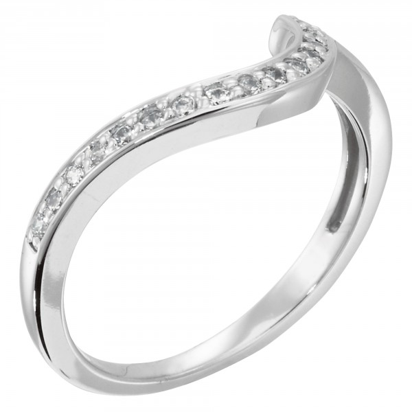Whitney Matching Band For 3.05 Round Brillant - Platinum - Ring Size 4.0-4.5