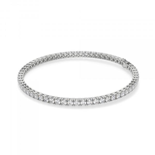3.72 Carat Round Cut Tennis Bracelet