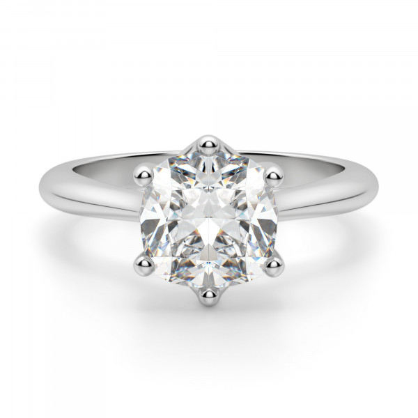 Bali Classic Cushion Cut Engagement Ring