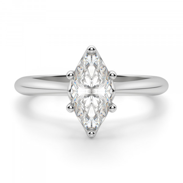 Bali Classic Marquise Cut Engagement Ring