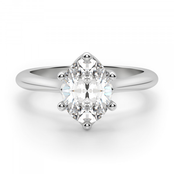 Bali Classic Oval Cut Engagement Ring