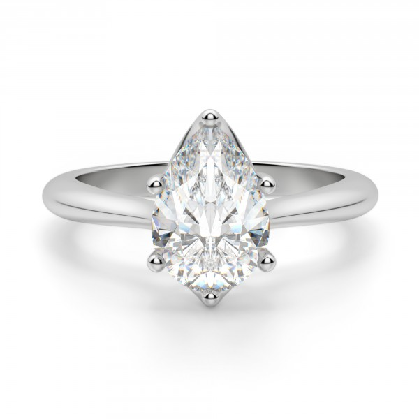 Bali Classic Pear Cut Engagement Ring