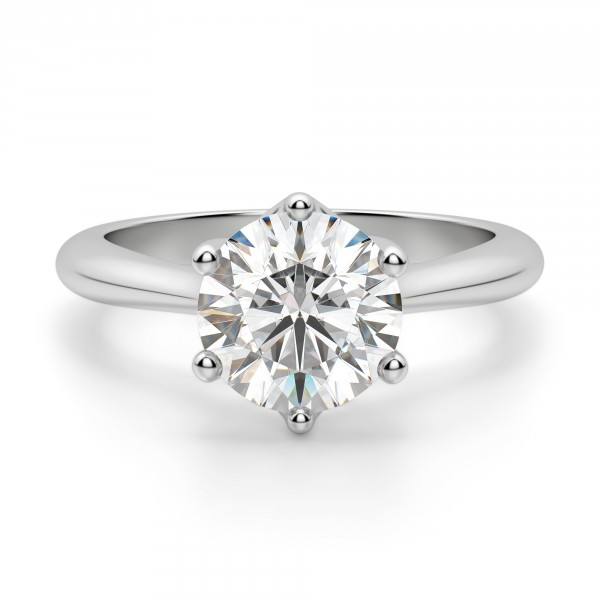 Bali Classic Round cut Engagement Ring