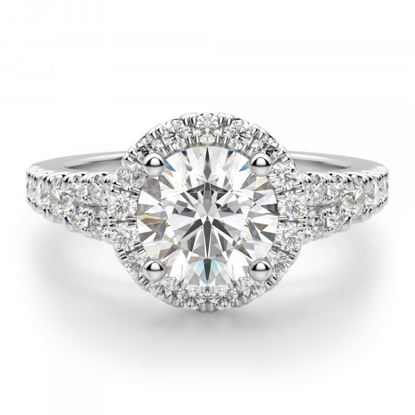 Berlin Round Cut Engagement Ring